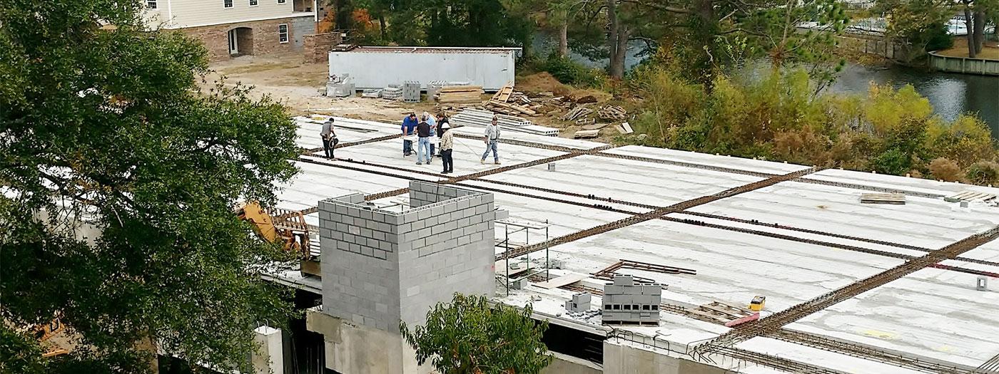 Building 14 progress
