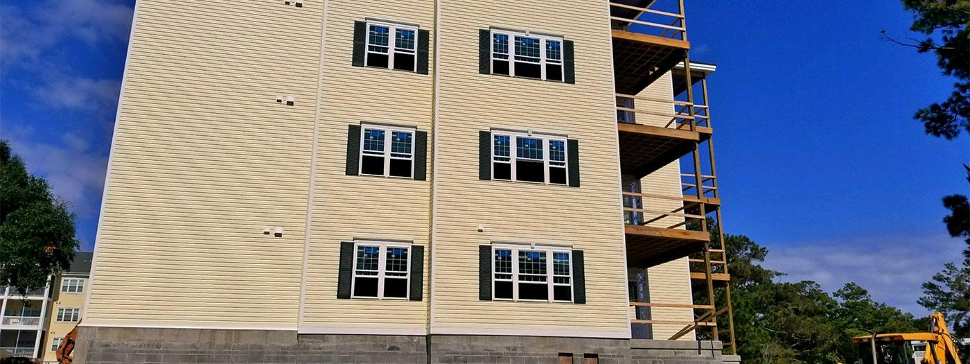 Ocean Keyes Building 14 progress October 2017