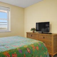 Guest Bedroom 1 Queen Bed TV