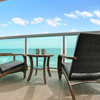 Patio Adirondeck Chairs Close Up
